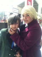 Ciel And Alois-AX 2012 by CourtneyMonroe