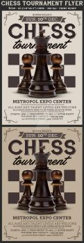 Chess Tournament Flyer Template by Hotpindesigns
