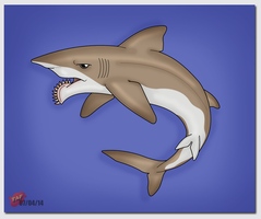 Helicoprion bessonovi by TheAngryFishbed