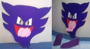 Haunter FaceMask by crowmarks