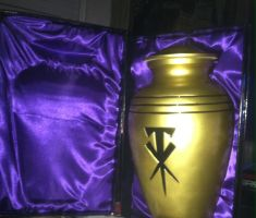 wwe The Undertaker Replica Urn by shawnorton619