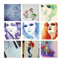 Sketchdump - July-September - 1 by nataliebeth