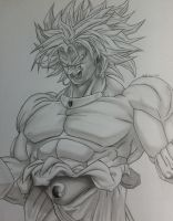 Broly by Nicksta100