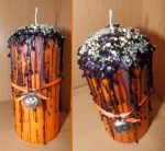 Ritual Candle - Halloween by Wilhelmine