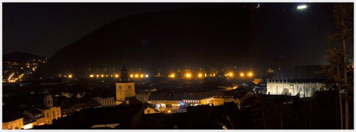 Night Panorama by grinpiss