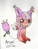 Angel the Skitty Chibi by adventurerabby