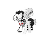 Zacharie and Sugar Ponies by PrinceOfRage