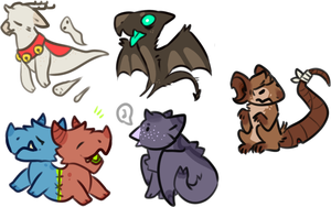 2spoopy Adopts  OPEN by LoserDoge