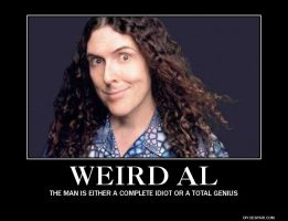 WEIRD AL by AmbidextrousPinapple