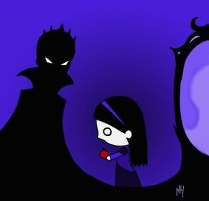 Snow White and The evil Queen by Nexils
