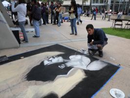 Chalk Art by SketchMonster1