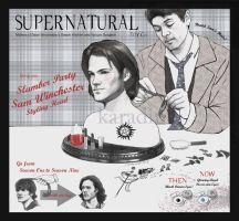 Slumber Party Sam Winchester Styling Head by karadin