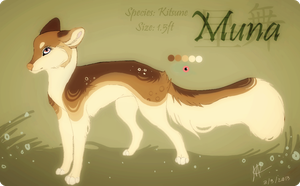Muna [ref] by Fainalotea