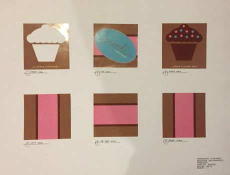 Cupcake Box design by tink55