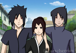 Request: Madara and Izuna with OC by iHeartCherries