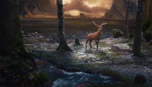 Deer by Orelf