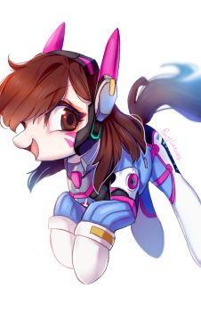 Love D.VA by RosyCanvas