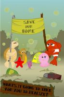 Save Our Ocean by AdeliaMorika