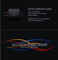 Electric company Business card by Thanushka