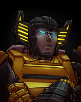 Sunstreaker by shibara-draws-mecha