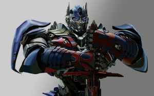 Optimus Prime by Hawkmccloud
