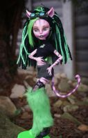 Monster High OC Cat Scratch Mewtrix Full by PaulTheDoodlebug