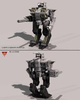Battletech / MechWarrior C-SRP-O SERAPH INVICTUS by lady-die