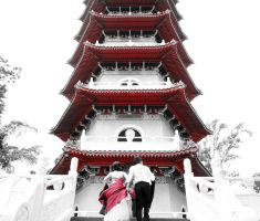 Pagoda People by tugalot