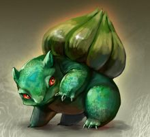 Bulbasaur by rekuroBis