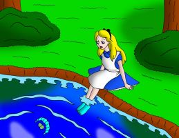 Alice in the lake by streetgals9000