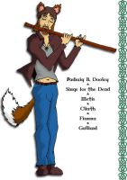 Padraig B Dooley - With Flute by Wandering-Lemming