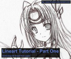 Lineart Tutorial 01 - Ink by Kouken