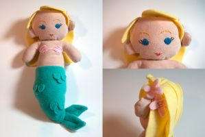 Mermaid Plush by SeamsLegit