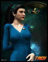 Deanna Troi by MotoTsume