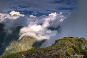 Walking On Clouds by Schumis