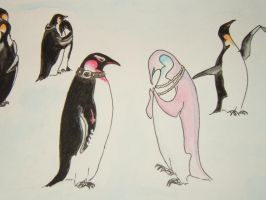 penguins : gothic+posh by vefa