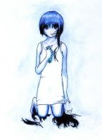 Scissors Lain by Meron-Pan