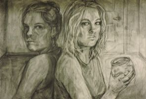 Double Self Portrait by 101italy101