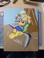 Construction Paper - Reading is for Everypony by JackOfMostTrades