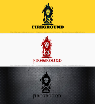 Firefighter Apparel Logo by DianaGyms