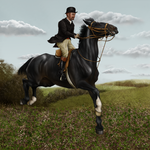 St George's Day Hunt - Samson and Valiant by oingy-boingy