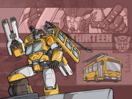 Something mecha - Thirteen by juzo-kun