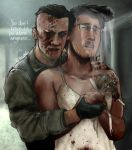 Markiplier and Eddie Gluskin (Outlast DLC) by Shuploc