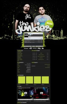 Myspace: The Junkies by stuckwithpins