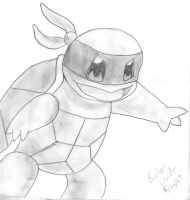 Teenage Mutant Ninja Squirtle by Baylor-The-Pikachu