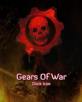 Gears Of War Skull Dock by michaelmknight