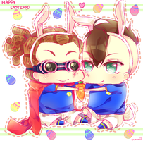 Happy FDKD Easter! by DeathNoteNiky04