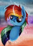 Rainbow Dash's portrait by Julunis14