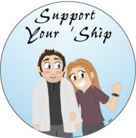 Support Your Ship:C+L -Alimoey by carson-beckett