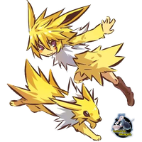Render Jolteon Gijinka by GrayAngel15